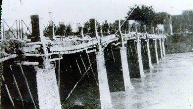 جسر خشبي