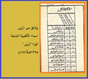 وثائق دير الزور -