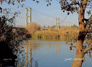 دير الزور الجسر المعلق
